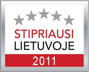 Stipriausi Lietuvoje 2011